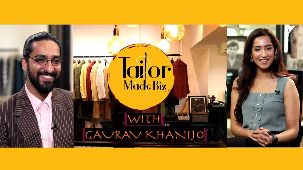 TAILOR MADE BIZ: Designer Gaurav Khanijo talks about how he carved a niche for himself in an industry that was cluttered with extravagant designs