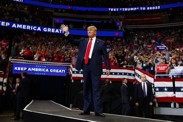 US President Donald Trump kicks off 2020 campaign at Orlando rally