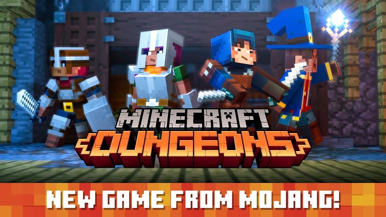 "Minecraft-Dungeons- Called Minecraft: Dungeons, the new experience is described as ""an all-new action-adventure game inspired by classic dungeon crawlers, where you'll constantly discover new weapons and items that will help you defeat a ruthless swarm of new-and-nasty mobs."