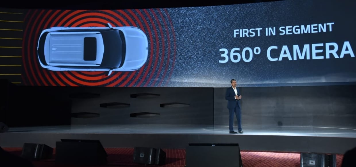 The car is also set to have a BSVI compliant engine. This will be in accordance with the environmental norm which will set force in 2020. (Image: Kia Motors India/Twitter)