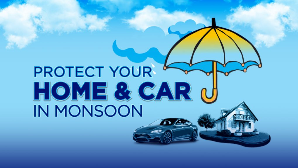 Protect your home and car in monsoon