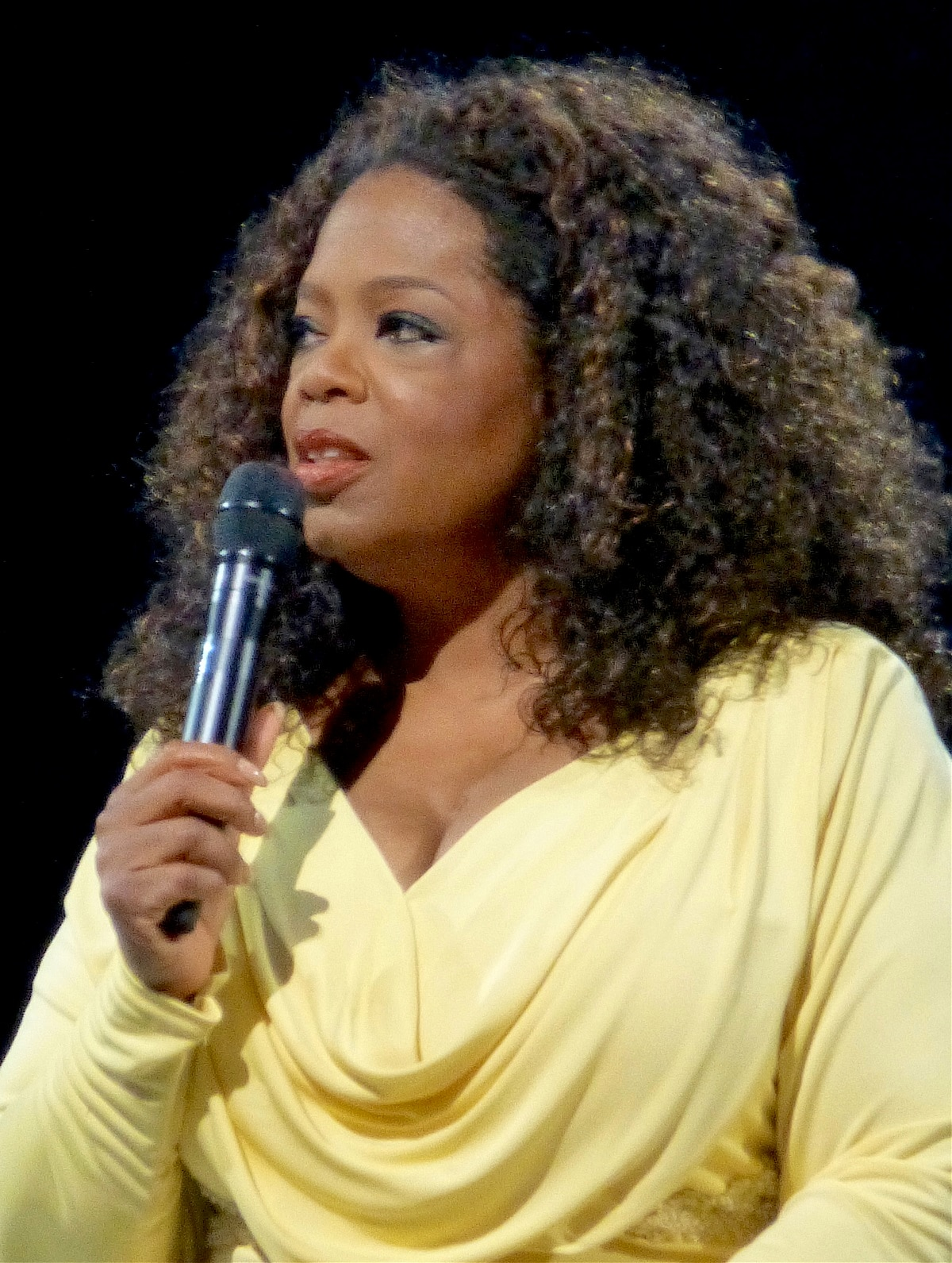 Another popular personality known for her contribution is the entertainment mogul and actress<strong> Oprah Winfrey</strong>.  (Source: Wikimedia Commons)