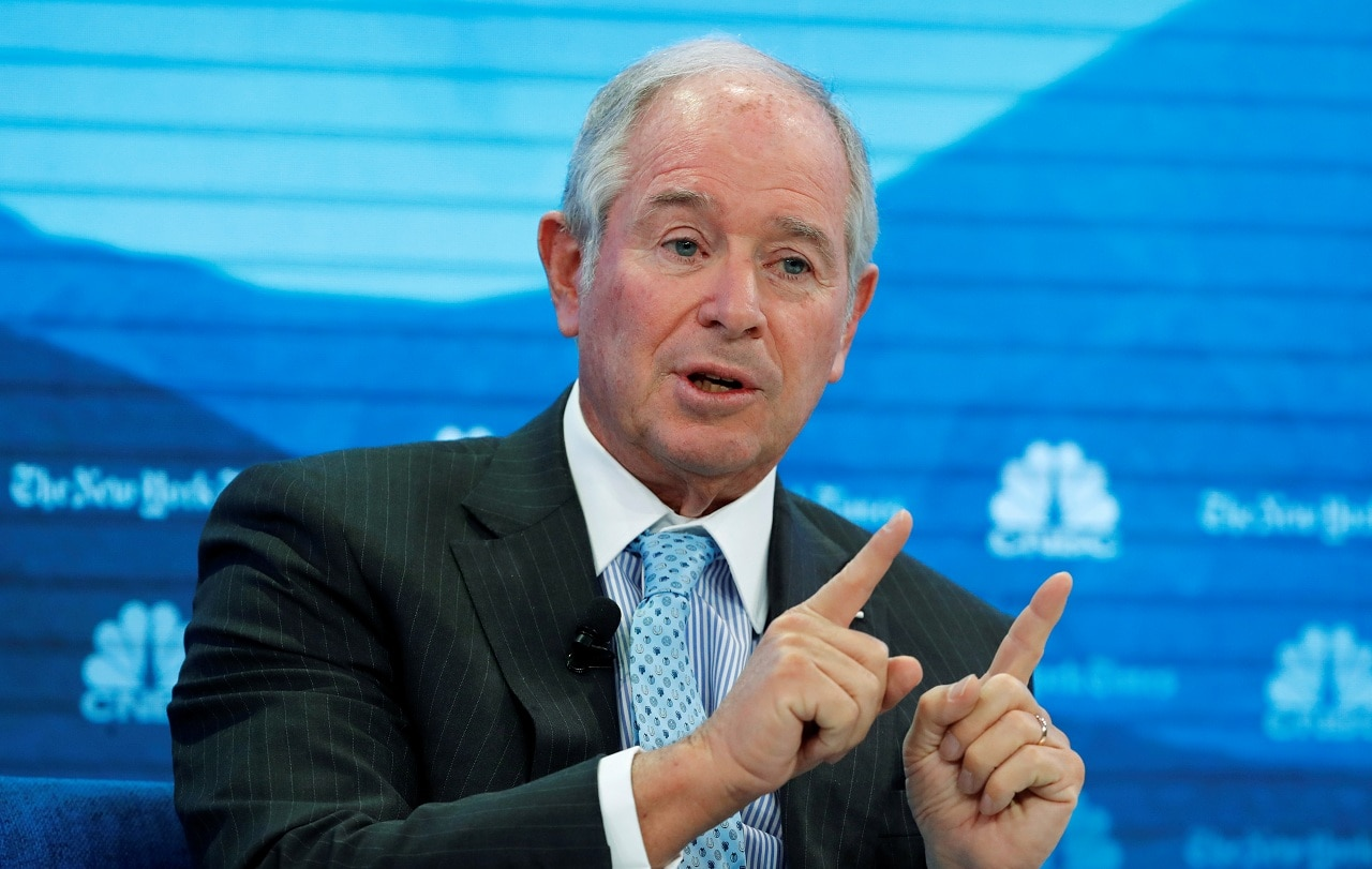Stephen Schwarzman, CEO/Chairman at Blackstone Group LP | Schwarzman's compensation in 2018 was $69.14 million. (Image: Reuters)