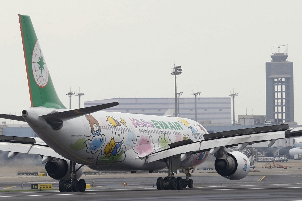 #6. Eva Air: Taiwan-based Eva Air is owned by the Evergreen Group. The airline has been operating passenger and dedicated cargo services to a total of 62 international destinations. Also, the airline topped Skytrax's ranking of the 'World's Cleanest Airlines'. (Image: Reuters)