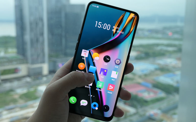 Realme X- The smartphone comes with 6.53-inch Full HD+ edge-to-edge AMOLED display with 19.5:9 aspect ratio. At the back, there is a dual-camera setup, where one is a 48-megapixel primary sensor. It is paired with 5-megapixel secondary sensor for depth.It is also equipped with 16MP front camera. Powered by a Qualcomm Snapdragon 710 SoC, it is paired with up to 8GB RAM and 128GB storage.