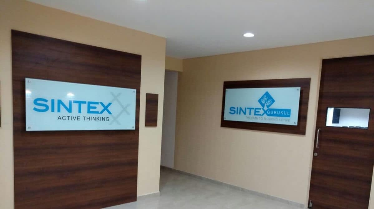 Sintex Plastics' stock price fell 4 percent to its 52-week low of Rs 1.20. (Company Image)