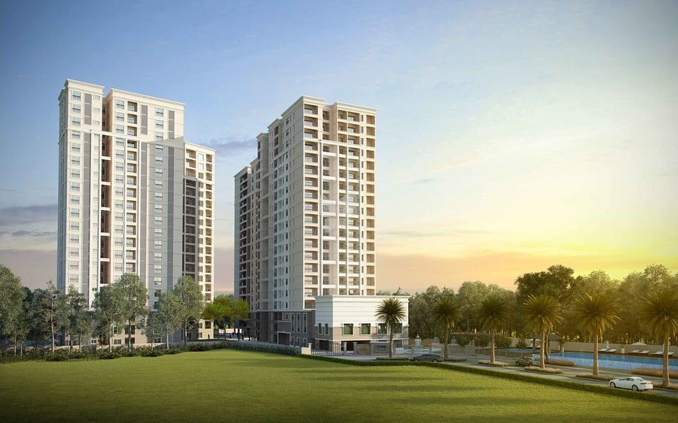 4. Sobha's shares surged 3.75 percent to hit its 52-week high of Rs 588. (company image)