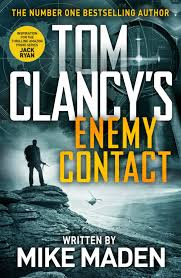 <strong>#8. Tom Clancy's Enemy Contact by Mike Maden:</strong> The author is known for his