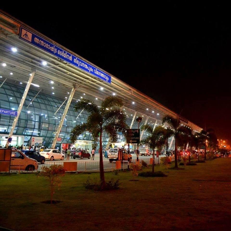 9: Trivandrum International Airport: 25.29 lakh passengers. (Source: Facebook)
