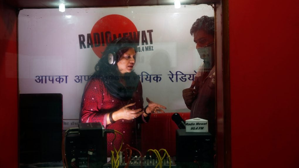 How a Community Radio Station Changed the Lives of the People of Mewat