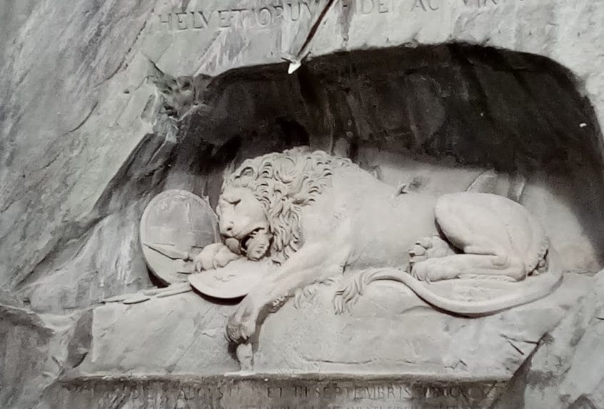 Switzerland's beloved Lion Monument threatened with decay