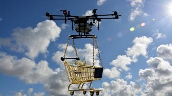 Delivery drones in the sky — are they flying away with jobs?