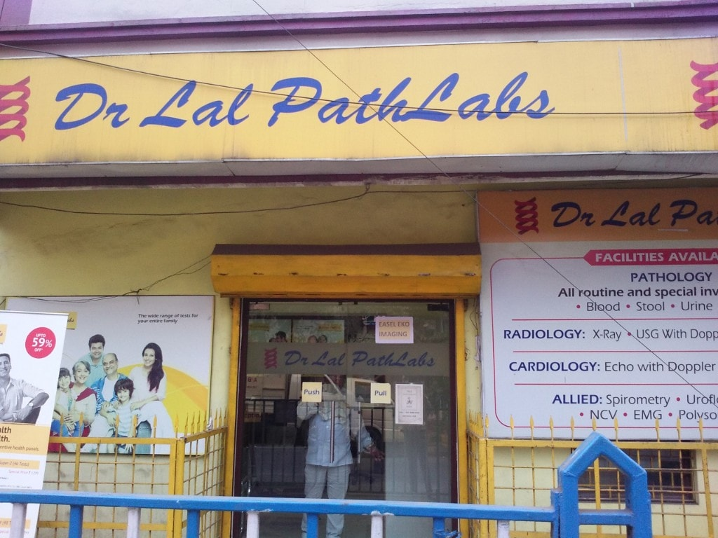 Dr Lal Pathlabs rose 2.2 percent to hit its 52-week high of Rs 1,210.95 per share. (Image: Company)