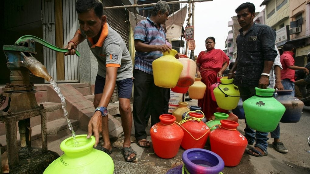 Tech firm employees asked to cut back on water use as taps run dry in Chennai