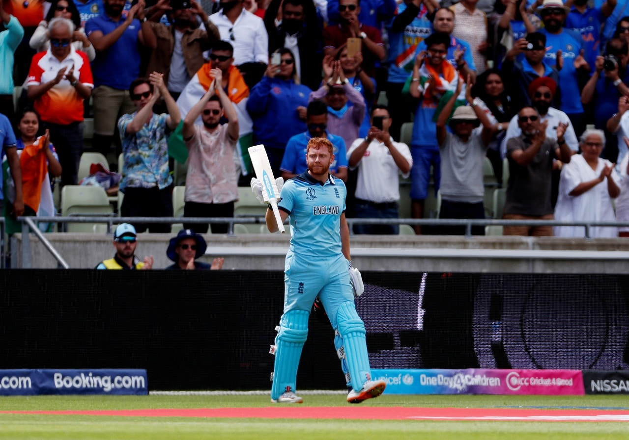 Cricket - ICC Cricket World Cup - England v India - Edgbaston, Birmingham, Britain - June 30, 2019 England's Jonny Bairstow Action Images via Reuters/Paul Childs