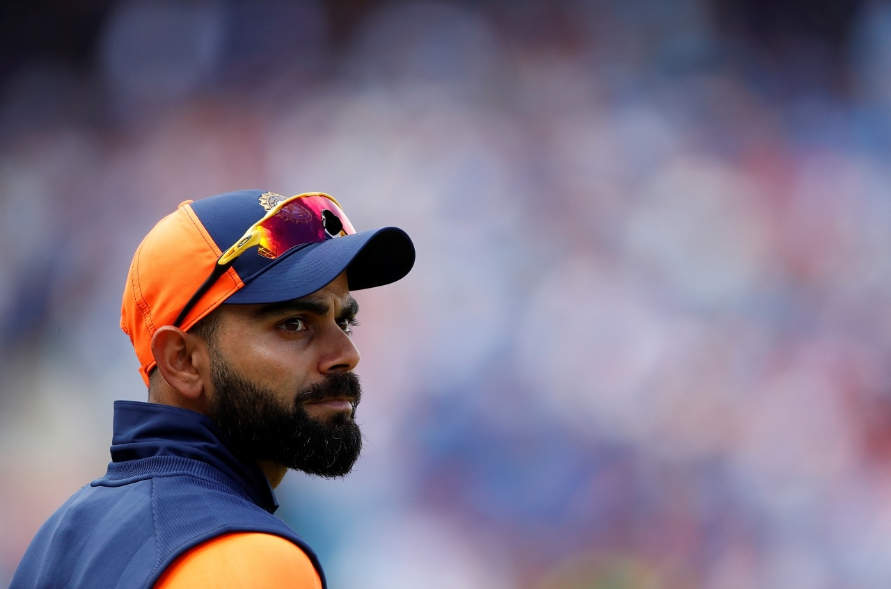 Cricket - ICC Cricket World Cup - England v India - Edgbaston, Birmingham, Britain - June 30, 2019 India's Virat Kohli Action Images via Reuters/Andrew Boyers