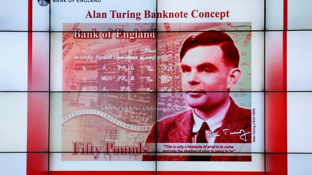 Bank of England picks World War Two code-breaker Alan Turing for banknotes