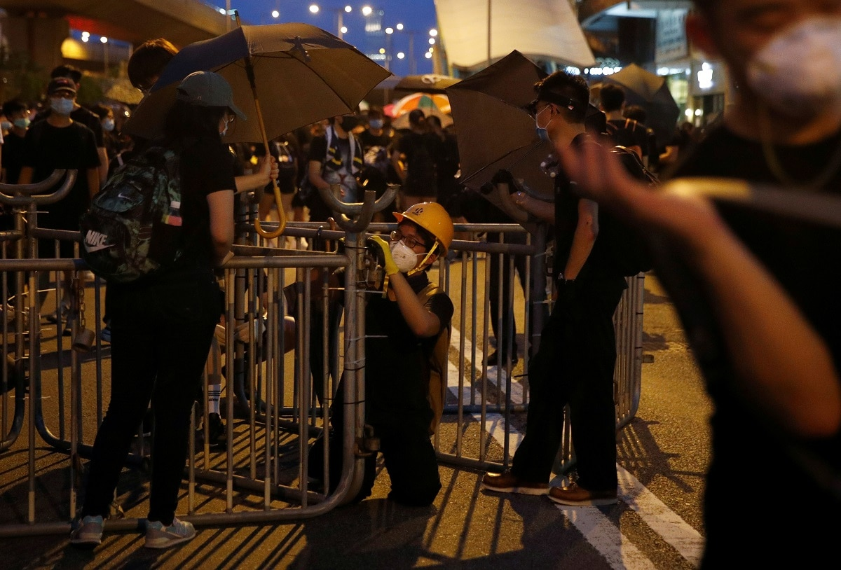 Millions have rallied over the past two months in an unprecedented show of force against Hong Kong leader Carrie Lam, triggering the worst social turmoil to rock the former British colony since it returned to Chinese rule 22 years ago. REUTERS/Edgar Su