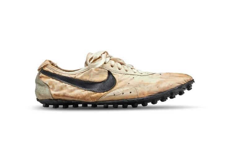 Sotheby's: Nike shoes race to $437,500 world record auction price for sneakers