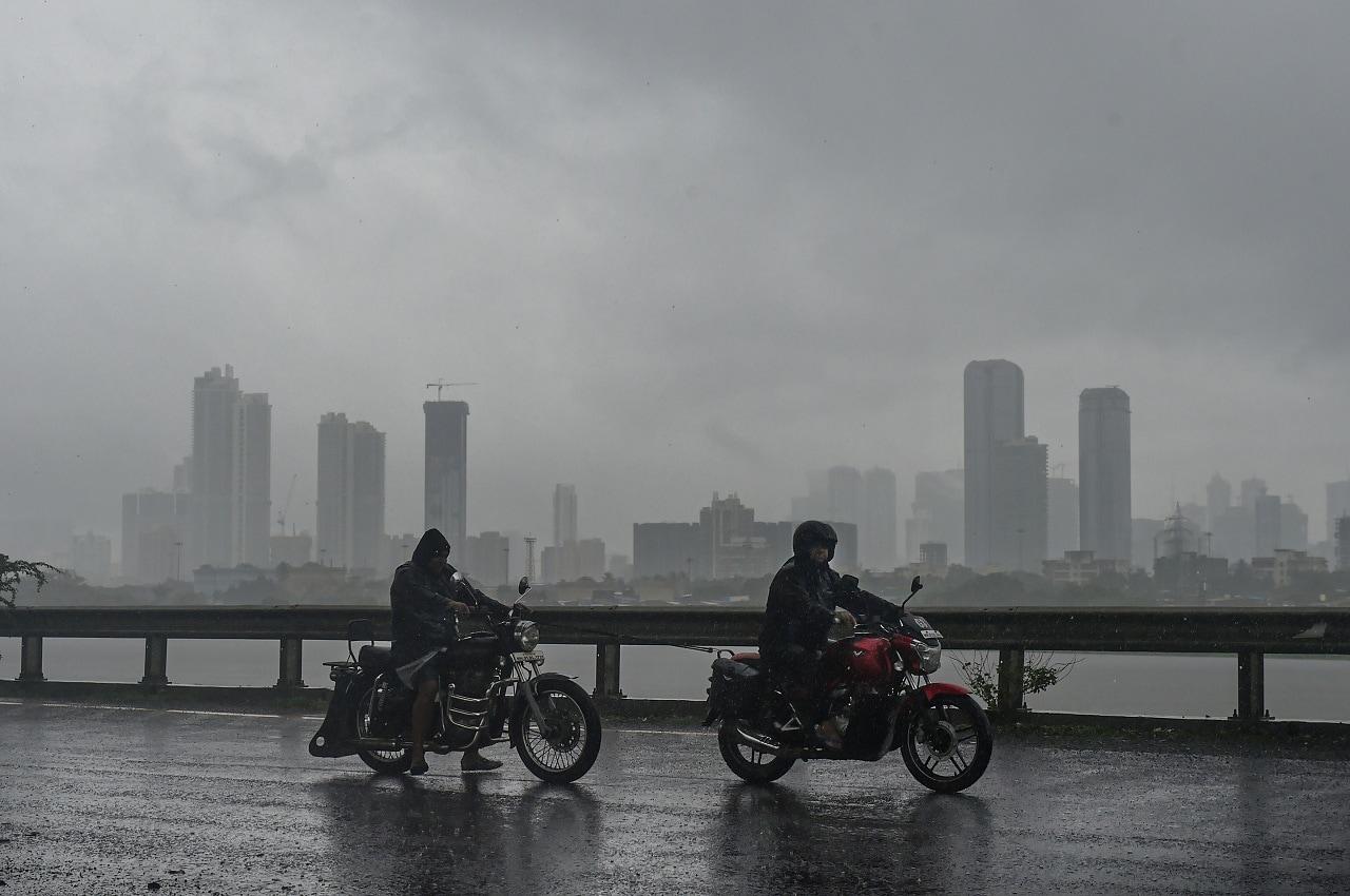 Mumbai: A view of the city skyline during monsoon rain, in Mumbai, Monday, July 1, 2019. (PTI Photo/Mitesh Bhuvad)