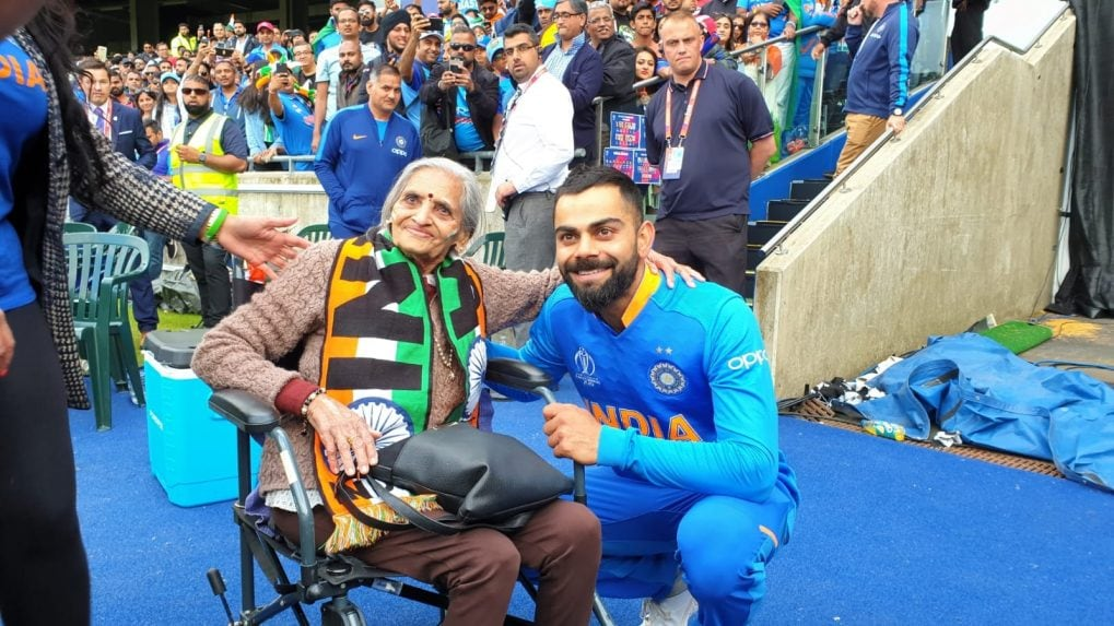Anand Mahindra offers to sponsor tickets for team India's 87-year-old fan Charulata
