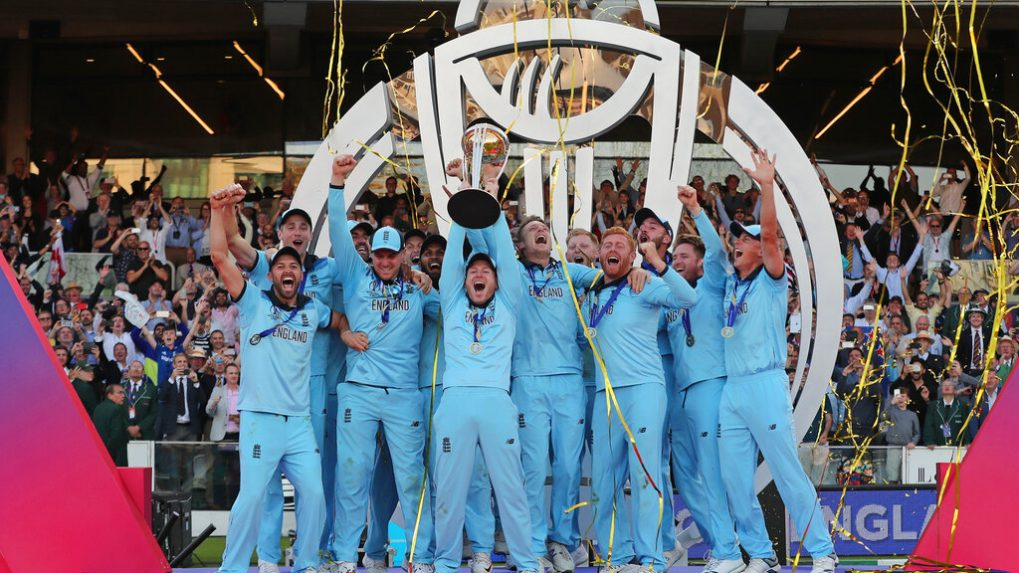 In Pictures: England wins first Cricket World Cup after all-time classic