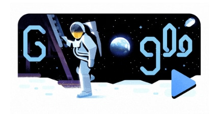 50 Years of Moon Landing: Google Doodle celebrates Apollo 11 anniversary with animated video clip narrated by astronaut Mike Collins