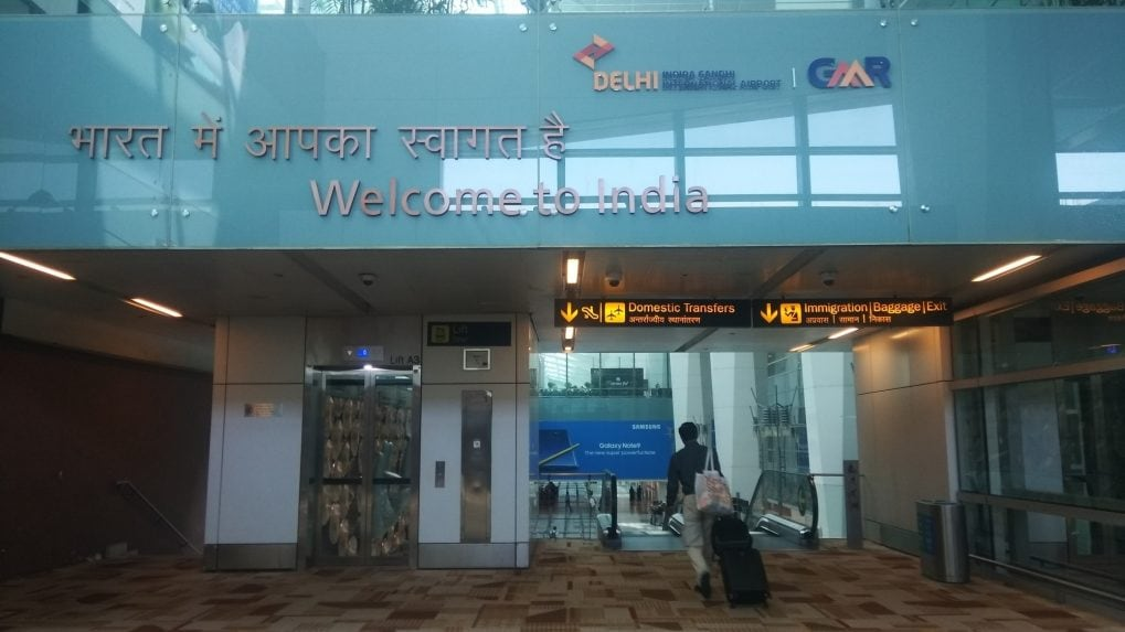 Chaotic scenes at Delhi airport as more planes fly from T3