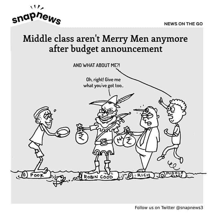 Middle class men aren't Merry Men anymore after budget announcement