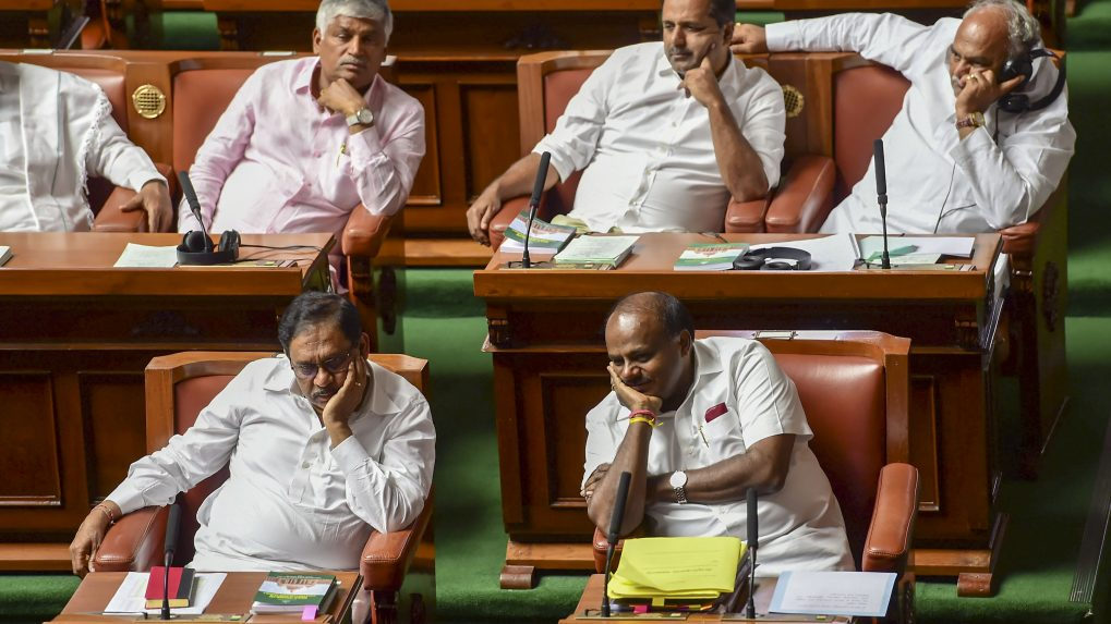Karnataka trust vote: Assembly fails to meet 1:30 pm deadline set by Governor