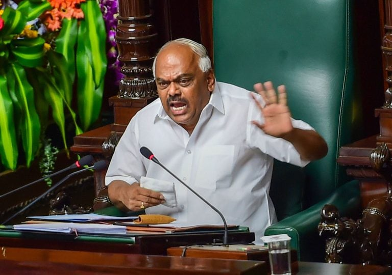 Karnataka Speaker asks government to honour commitment to complete trust vote process Monday