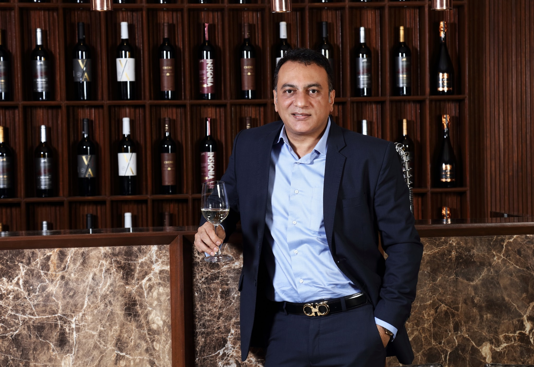 Vivek Chandramohan, CEO, Grover Zampa Vineyards