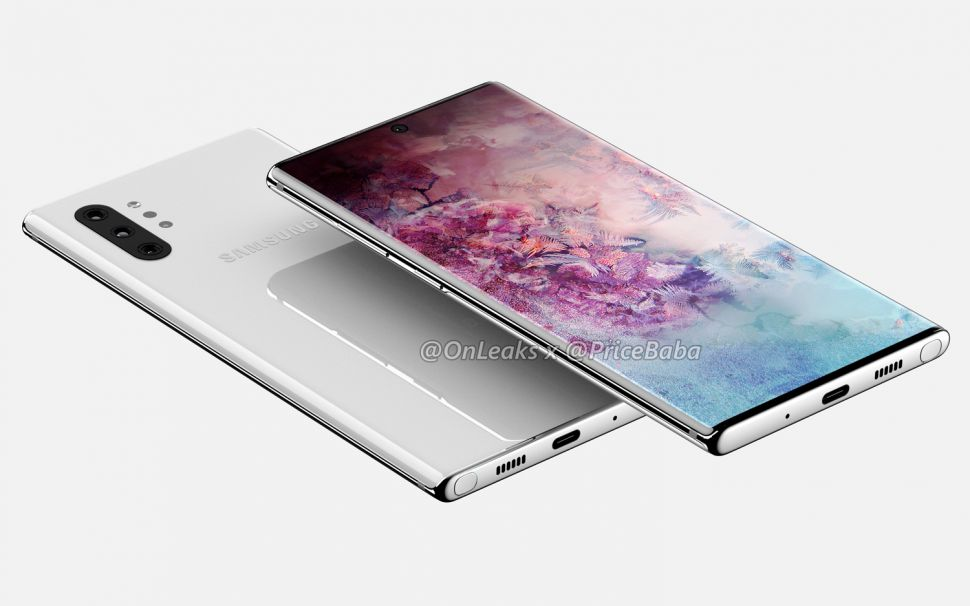 5. Samsung Galaxy Note 10: The latest Note handset will definitely find a mention in the August 7 press event by the company. The latest Note 10 is rumoured to have two versions with – one sized at 6.4 inches and the other at 6.7 inches, called the Note 10+ or Pro. It is expected to have a 5G variant and at least one models could carry a 4,500 mAh battery and fast charging. (Image: OnLeaks and PriceBaba)