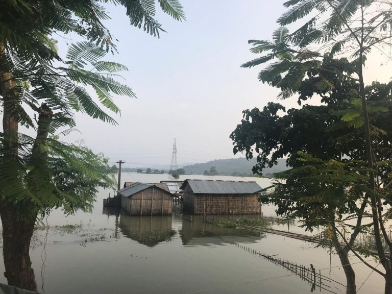 Flood victims in Assam get ready for NRC publication, stand guard in submerged homes for documents and cattle