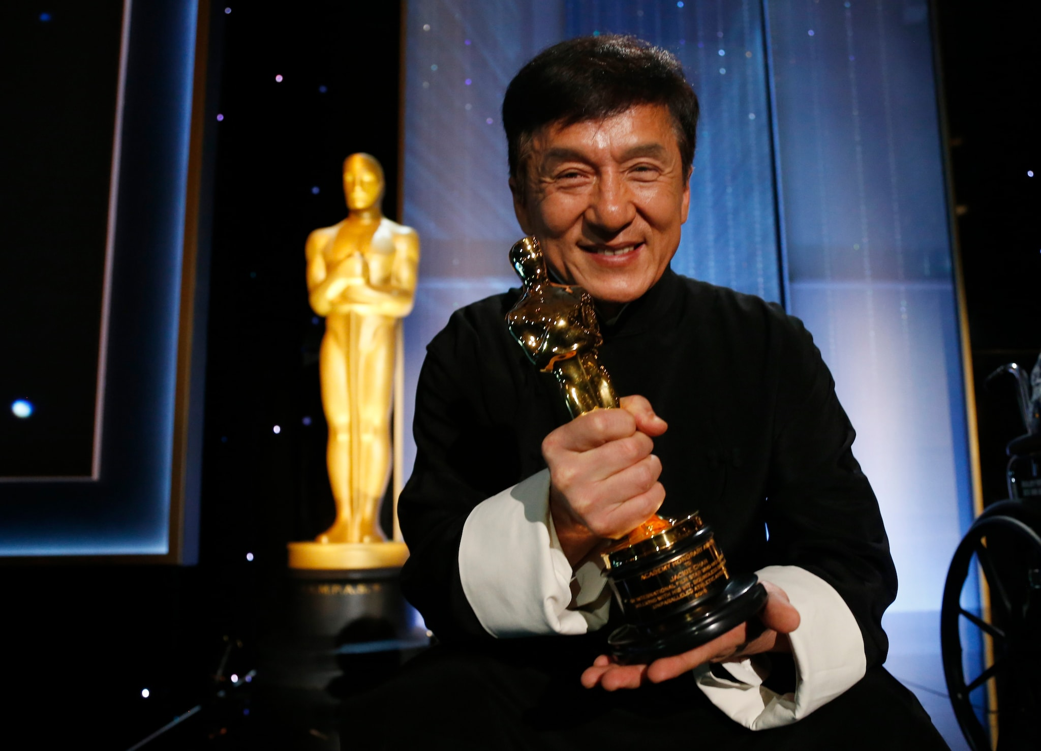 #10. Chinese actor Jackie Chan. Admiration Score: 3.44 percent. (Image: Reuters)