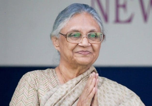Tribute: Sheila Dikshit's heart beat for Delhi. Delhi has missed a heartbeat today