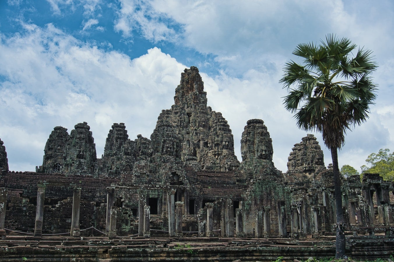 #10 Cambodia: This Southeast Asian nation has one of the largest religious monuments in the world, Angkor Wat, a massive stone temple complex, the history of which dates back to the Khmer Empire. | Unsplash