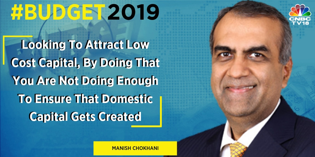 """If we keep on trying to raise resources from the 0.7 percent people who are allegedly super rich in the country… it is a bit bizarre. We all have to bear it,"" said Manish Chokhani, director, Enam Holdings on the income tax levels."