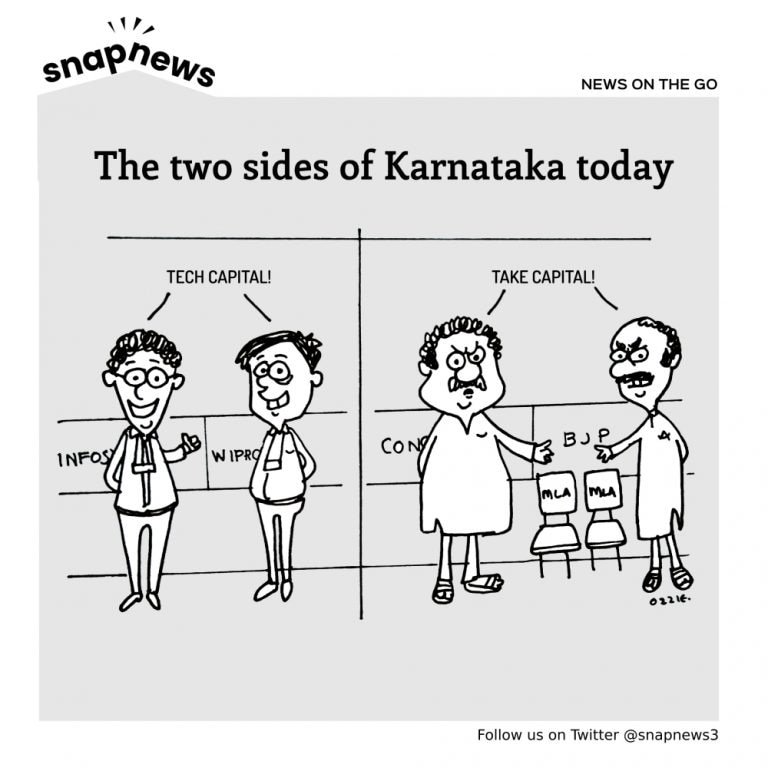 The two sides of Karnataka today