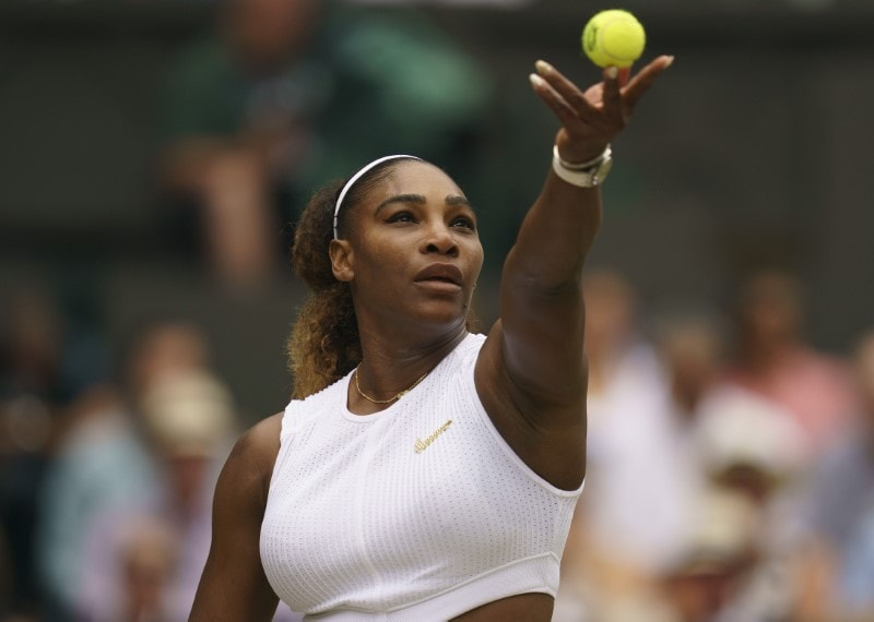 #1. Serena Williams: Total Earnings: $29.2 million. Williams, 37, plans to play through at least next year but is already planning her next act with a clothing line, S by Serena, and designs to launch jewelry and beauty products lines by the end of 2020. She also has built a venture portfolio worth more than $10 million. (Image: Reuters) (Caption Credit: Forbes)