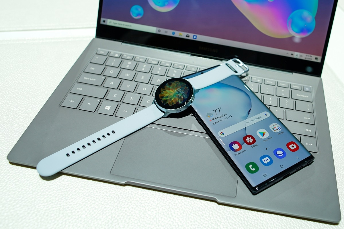 Along with its first foldable phone, the big-screen Note 10 is the South Korean tech firm's most important new product planned in the second half of this year to expand its mobile sales. (REUTERS/Eduardo Munoz)