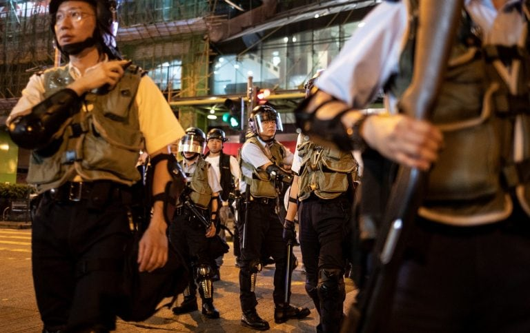 China says troops will defend Hong Kong's prosperity ahead of planned pro-democracy march