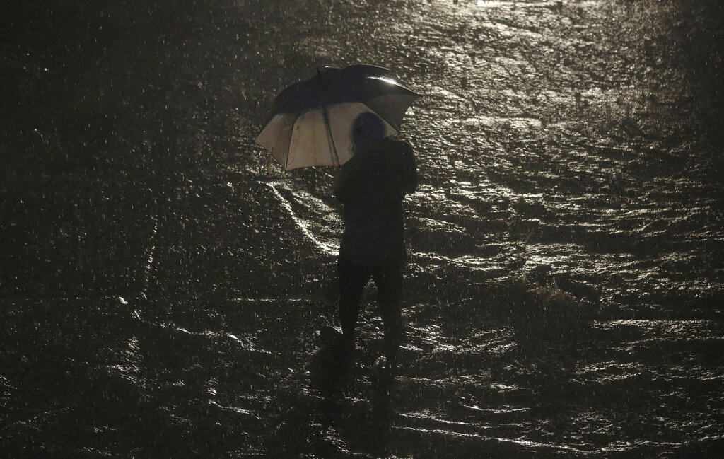 6: Sohra (Cherrapunjee), which is credited for being the wettest place on earth, came sixth after receiving 89 mm rainfall. ( Representational Image: AP Photo/Rafiq Maqbool)