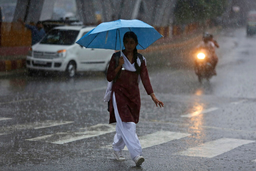 7: Matheran, the popular holiday destination among Mumbaikars came next after it received 78 mm rainfall. (Representational Image: AP Photo/Channi Anand)