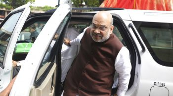 Home Minister Amit Shah meets PM; briefs on CMs views on lockdown