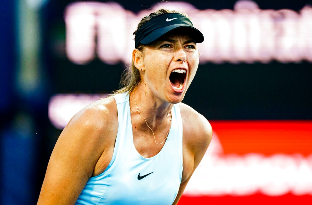 #7. Maria Sharapova: Total Earnings: $7 million. Injuries limited Sharapova to only 18 matches over the past year, but she maintains a lucrative endorsement with Nike, in addition to her Porsche, Head, Evian and Tag Heuer partnerships. Sharapova invested in the UFC and skincare brand Supergoop, yet her main off-court focus is building her candy brand Sugarpova. (Image: AP) (Caption Credit: Forbes)