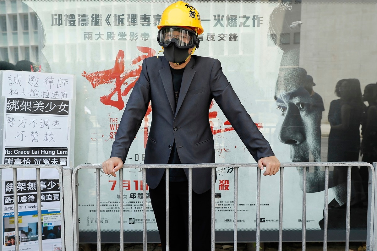 The protests were set off by proposed extradition legislation that if passed would have allowed some criminal suspects to be sent to China, where critics say they could face possible torture and unfair trials. (AP Photo/Kin Cheung)