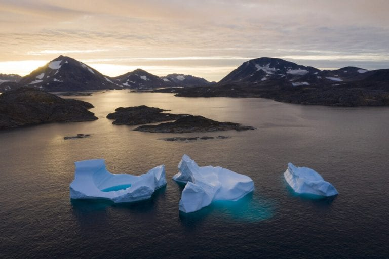 Glaciers on the edge: Stunning photos from Greenland