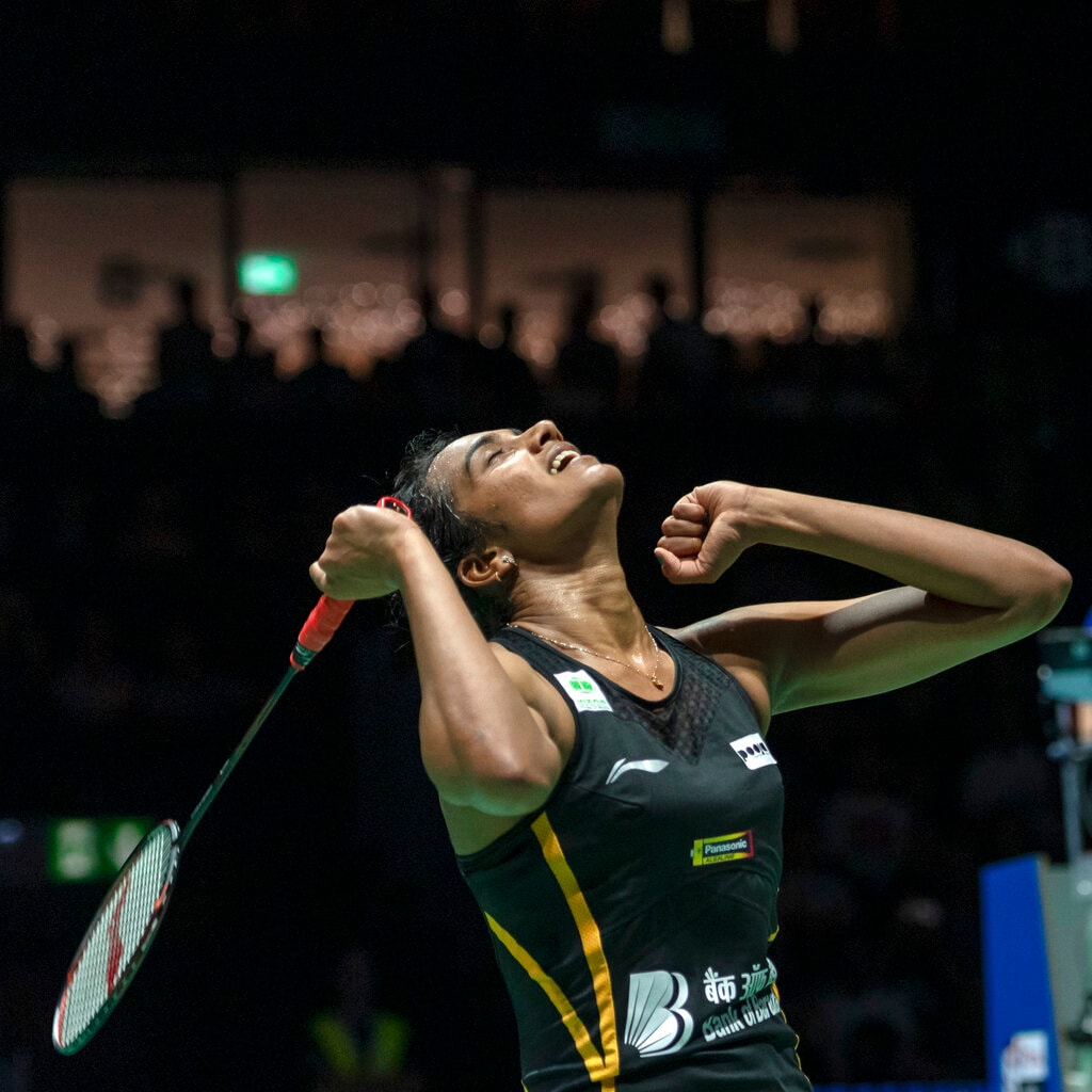 After finishing runner-up at the 2016 Olympics, last year's Commonwealth Games and Asian Games and the previous two world championships finals, Sindhu was delighted to stand on top of the podium in Basel. Sindhu played in five other finals last year without winning any of them, raising questions about her mental strength. (Image: AP)