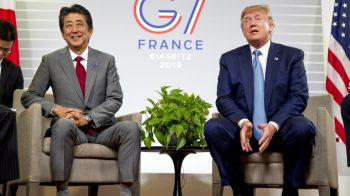 Donald Trump, Shinzo Abe say US and Japan have agreed in principle on trade deal